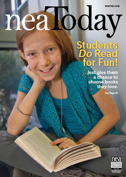 Students do read for fun